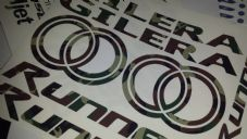 Gilera Runner Decals/Stickers EXCLUSIVE Cammo  Army DESIGN sp vx fx vxr 125 172